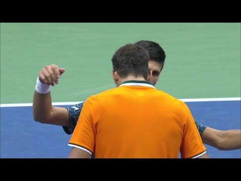 2018 US Open Top 5 Highlights:  Novak Djokovic