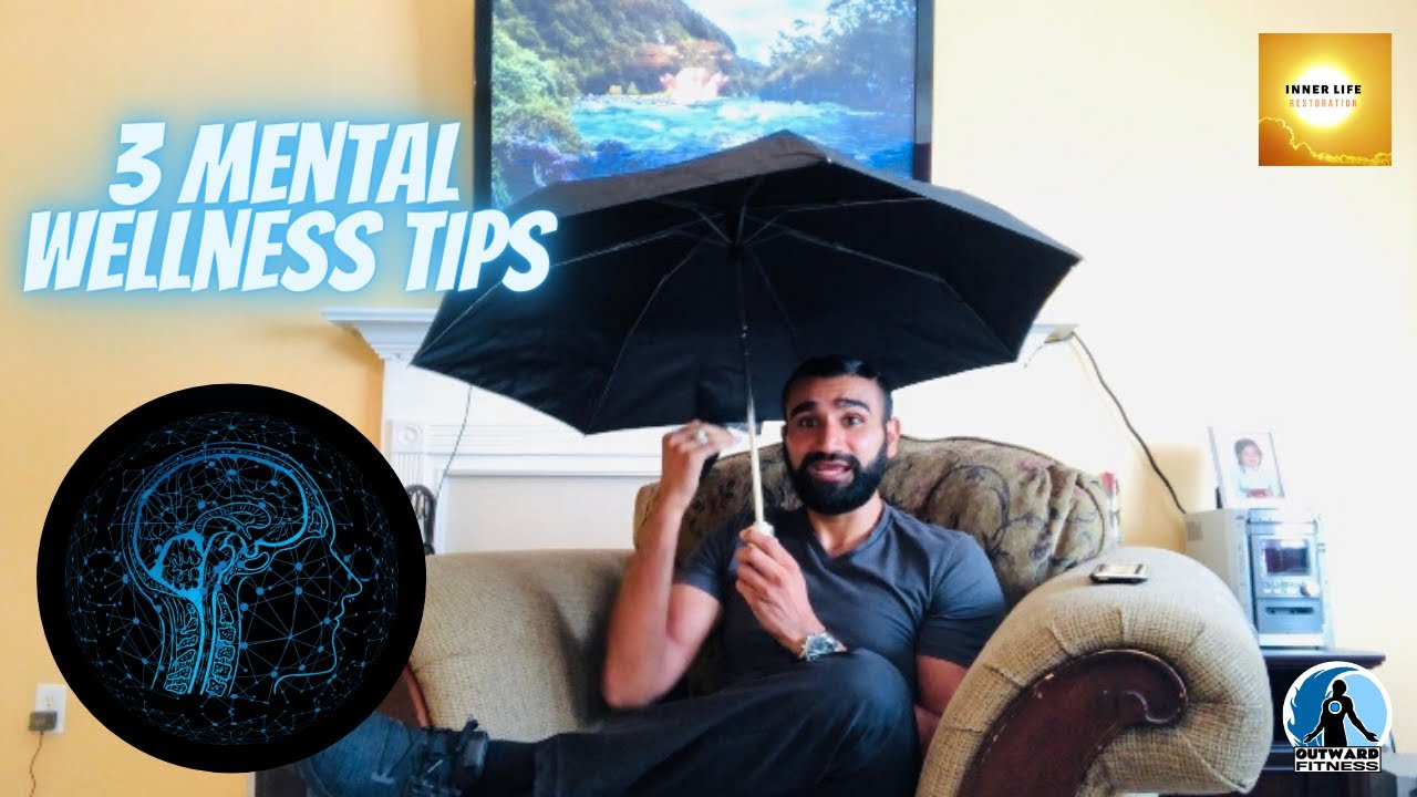 🤩 3 Mental 🧠 Wellness Tips | How do You Stay Dry 🌞 in the Rain ☔️?