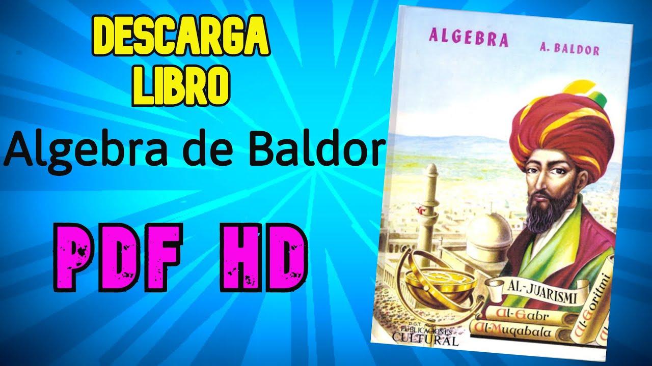 Descarga PDF Aritmética de Baldor, Álgebra Baldor