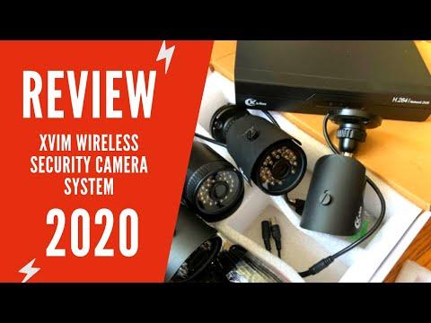 XVIM Security Camera System Review & Manual | XVIM 8 Channel 1080P Home Security Camera System Setup