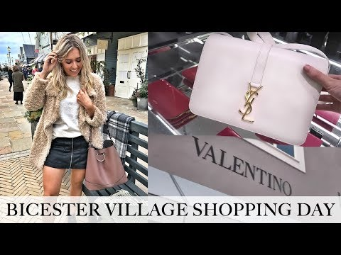 COME LUXURY SHOPPING! NEW BICESTER VILLAGE DESIGNER OUTLET H