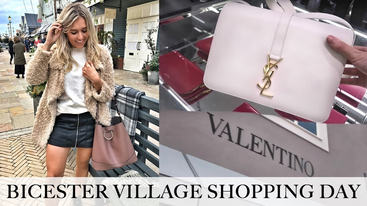 51a1dc184c15 COME LUXURY SHOPPING! NEW BICESTER VILLAGE DESIGNER OUTLET HAUL ...