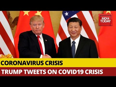 Coronavirus Crisis: 'Discussed In Great Detail On Covid19 With Xi Jinping' ,Tweets  Donald Trump