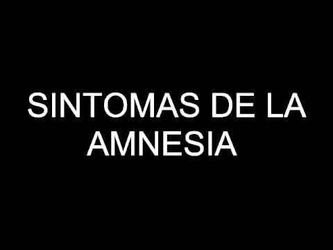 Sintomas De La Amnesia Youtube