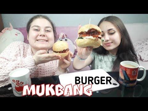 MUKBANG ДОМАШНИЕ БУРГЕРЫ 🍔🍔🍔 ОООЧЕНЬ ВКУСНО !!!  Homemade Burgers
