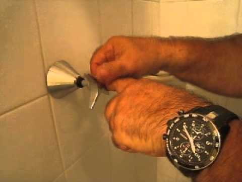 Changing shower taps - YouTube