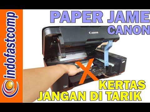 Cara Reset Printer Canon IP2770 Error Number 5B00 lampu Power dan kertas berkedip bergantian, tonton.