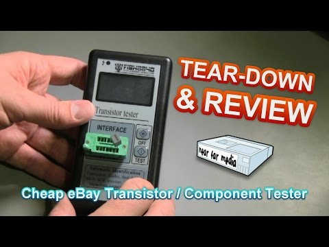 Transistor / Component Tester Teardown and Review