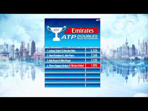 Emirates ATP Rankings 23 May 2017