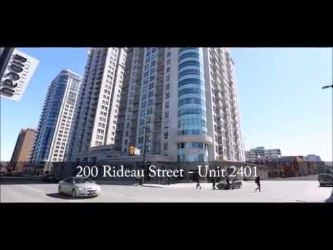 SOLD - 2401 - 200 Rideau Street Penthouse Virtual Tour