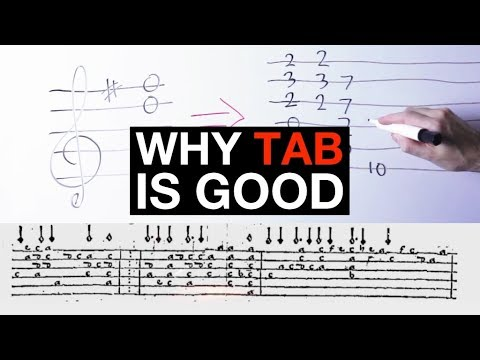 Why Tablature Is A Great Tool For Guitarists (And You Should Use It Too)