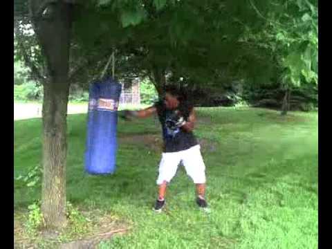 Outdoor Heavy Bag - YouTube