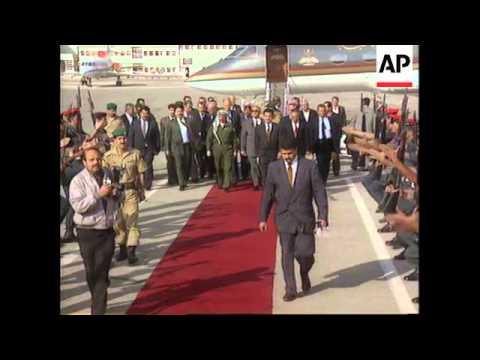 Jordan - Yasser Arafat Meets King Hussein