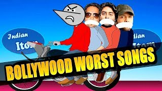 Bollywood Worst Song Lyrics : Indian Itom | Angry Prash