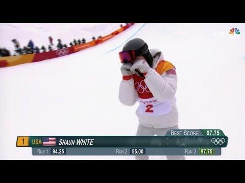 Shaun White Wins Gold Medal | PyeongChang 2018