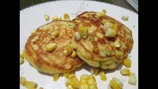 CORN FRITTERS | How to make perfect CORN FRITTERS Recipe