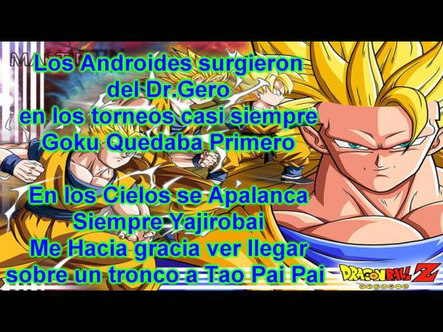 Dragon Ball Rap - PORTA (con letras) Videos De Viajes