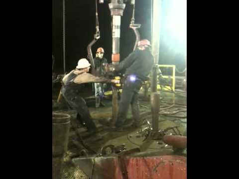 Kelly connection on Energy drilling rig 12