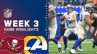 Buccaneers vs. Rams Week 3 Highlights | NFL 2021