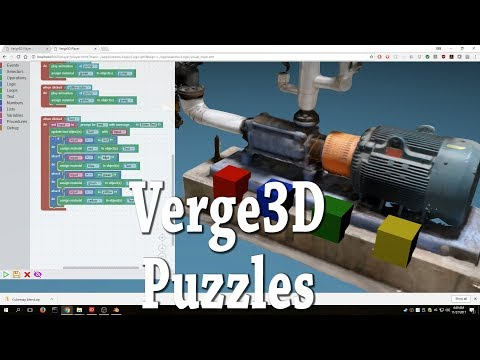 Verge3D Puzzles Visual Logic