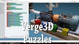 Verge3D Puzzles Visual Logic