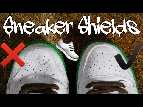 Are SNEAKER SHIELDS worth it?!?!? - YouTube