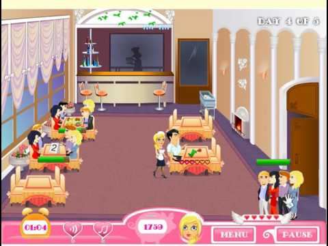 Игра Дженифер Роуз: Официантка в ресторане #2