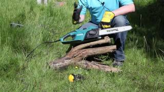 Makita UC3541A Electric Chainsaw Review