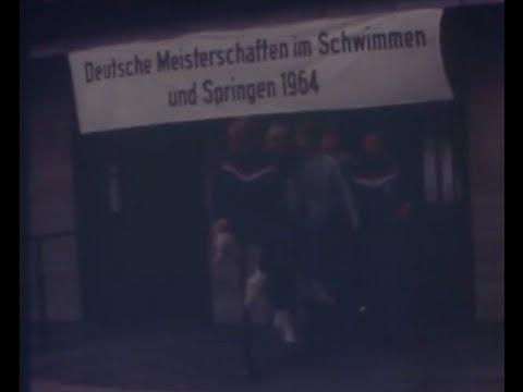Deutsche Meisterschaften Schwimmen und Springen 1964 in Berlin - Schwimmverein SV Königswinter