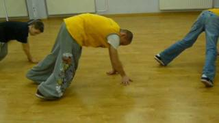 footwork combo 2   tutorial BREAK DANCE b boy taras majonez meterek  Jump Step Crew Dance Academy