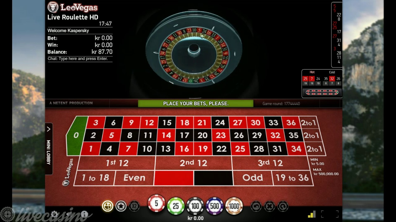 Netent Automatic Roulette Youtube