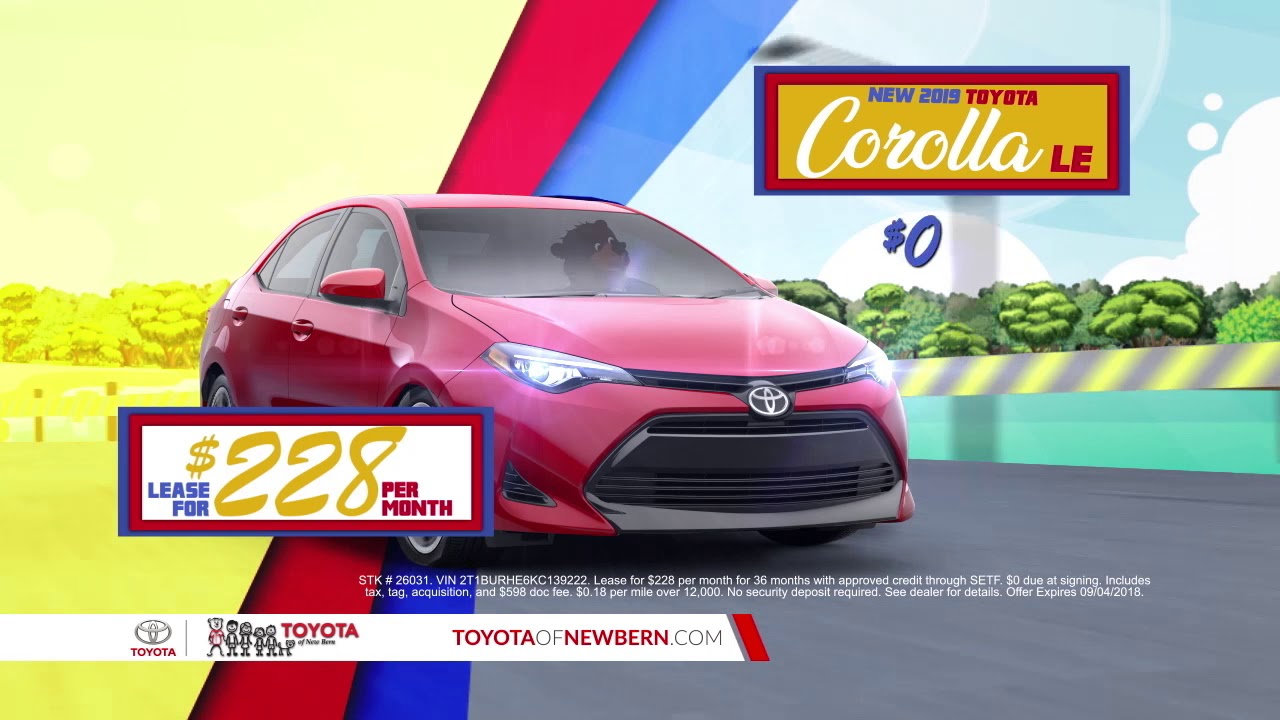 Toyota Of New Bern >> Back To School Savings At Toyota Of New Bern Camry Corolla