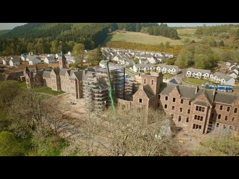 The Historic Great Glen Hall: Stunning Townhouses And Apartments In Inverness