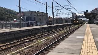 回9346M115系D14幡生出場回送安芸中野発車