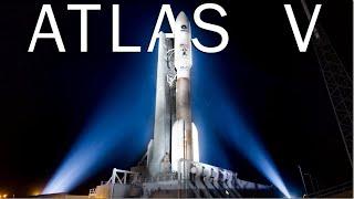 Atlas V - американская ракета с российским двигателем