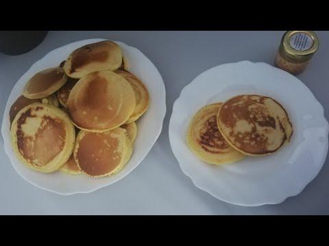 recette-rapide-et-facile-pour-le-petit---déjeuner-|-pancakes-|---semoule-très-fine-|🥞