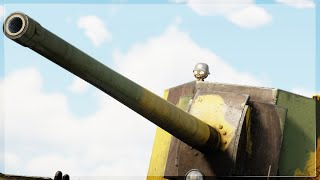 What happens when y๐u bring a BIGGER naval gun to a tank fight PT.2