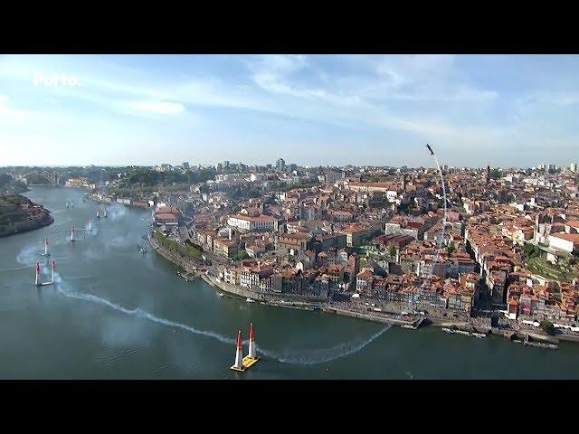 Espetáculo e emoção na Red Bull Air Race no Porto