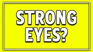 Do You Have Good Eyes?  96% fail