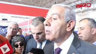 اتفرج | وزير التجارة والصناعة يفتتح معرض«الشعب يأمر» بأرض المعارض
