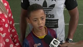 Grêmio contrata menino de oito anos