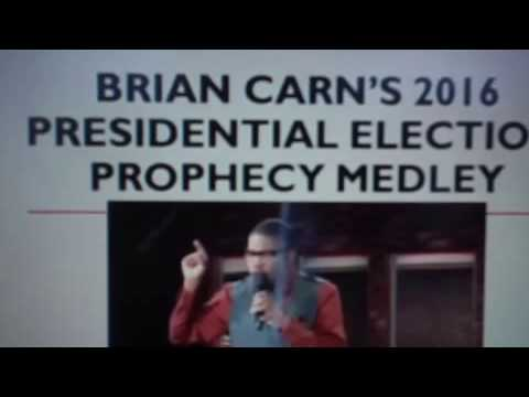 Brian Carn: Hillary Clinton will win the presidential election 11-8-2016