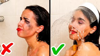 27 GENIUS BEAUTY TRICKS TO SAVE YOU THE TROUBLE || Shower Tips and Makeup Secrets for Girls!