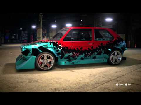 "BUNRTEND's Live NFS * ""Try-outs"" the VW Golf gti '76"