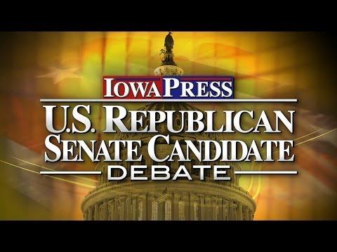 Iowa Press Debate: U.S. Senate Republican Primary