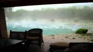freak gigantic hail storm wtf? haarp?? unnatural weather phenomenon 2011