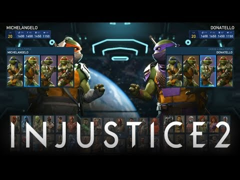 Injustice 2: Ninja Turtles FULL Gameplay Breakdown w/ Raphael, Leonardo, Donatello & Michelangelo!