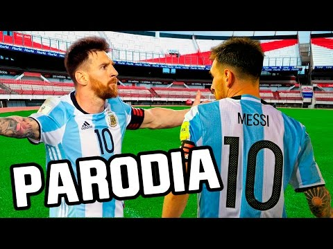 Canción Argentina vs Chile 1-0 (Parodia J. Balvin - Sigo Extrañándote) y Bolivia vs Argentina