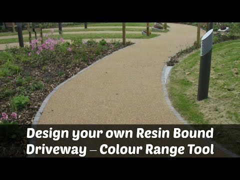 Design your own Resin Bound Driveway – Colour Range Tool