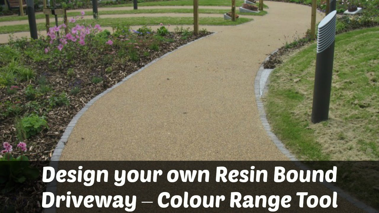 Design Your Own Resin Bound Driveway Colour Range Tool
